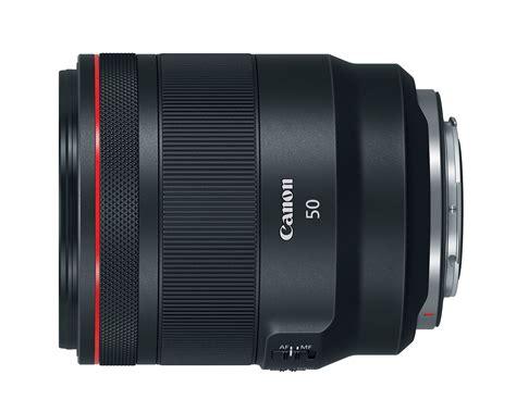canon announces four rf mount lenses for the canon eos r