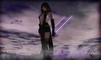 Jedi Duel Sword Deviantart Female Swords Characters