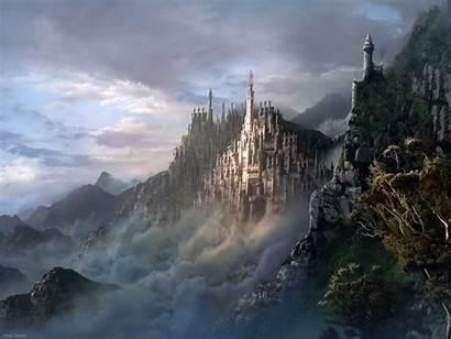 Fantasy Wallpapers Desktop 3d Backgrounds Background Painting