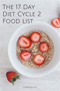 17 Day Diet Cycle 2 Food List