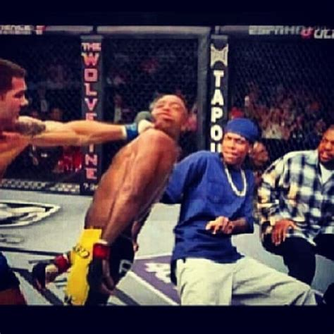 Anderson Silva Meme - so a boxer and a grappler step into the cage
