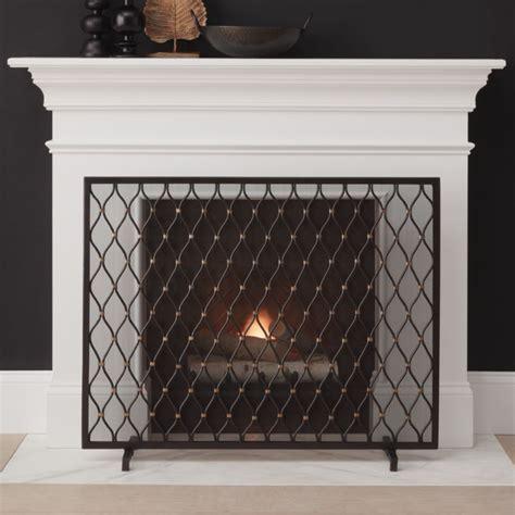 corbett bronze fireplace screen reviews crate  barrel