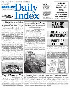 Tacoma Daily Index, August 08, 2012 by Sound Publishing ...