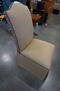 Upholstered, Studded, Accent, Chair