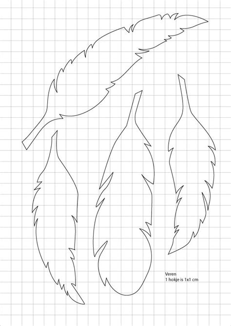 draw feather templates      designs