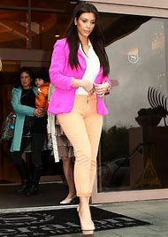Kim Kardashian Pink Blazer