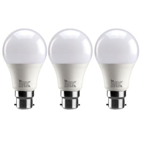 led 9 watt bulb pack of 3 cool white buy home