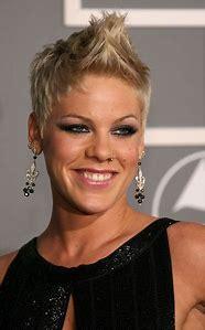 Singer Pink Short Hair