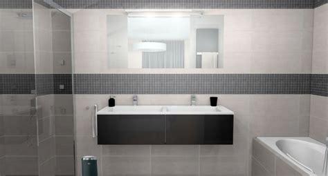salle de bain grise et blanche id 233 es d 233 co salle de bain