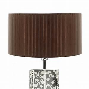 Lampenschirm 40 Cm : lampenschirm braun rund plissee 40 x 20 cm online shop ~ Pilothousefishingboats.com Haus und Dekorationen