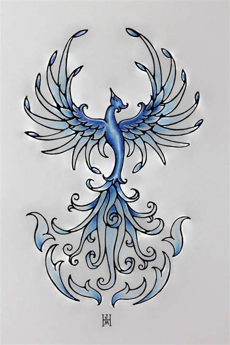 tatouage phoenix significations  idees en images