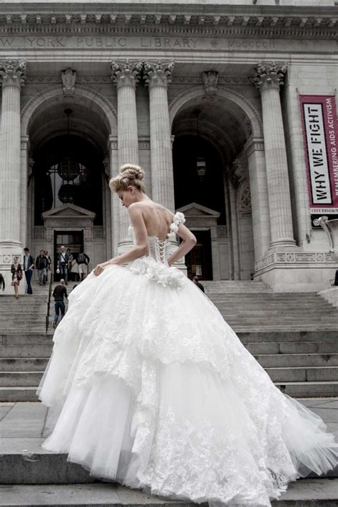 glamorous pnina tornai wedding dresses modwedding