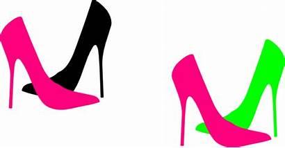 Heel Heels Clip Clipart Vector Shoe Cliparts