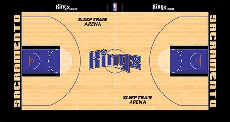 sacramento kings playing surface national basketball