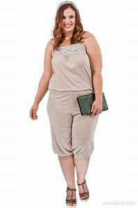 carina behrens dans une jolie combinaison pour femme With vêtement femme grande taille