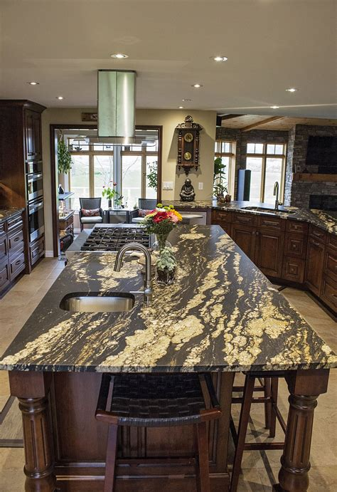 leathered finished silver supreme granite countertop