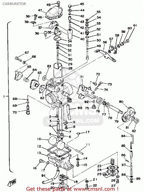 yamaha sr500 1978 usa carburetor buy original carburetor spares