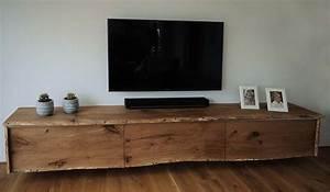 Tv Möbel Hängend : tv sideboard h ngend holz ~ Sanjose-hotels-ca.com Haus und Dekorationen