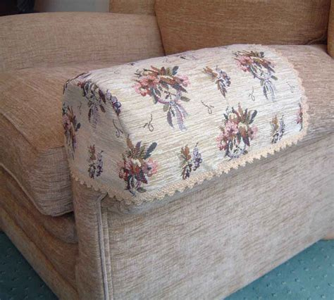 Covers For Settees by Pair Bouquet Arm Caps Covers For Chairs Settees Jumbo Ebay