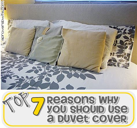 Top 7 Reasons Why You Should Use A Duvet Cover