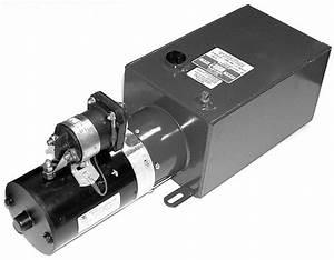 Dyna Jack Liftgate Pump 3000 Psi With Control Monarch M319