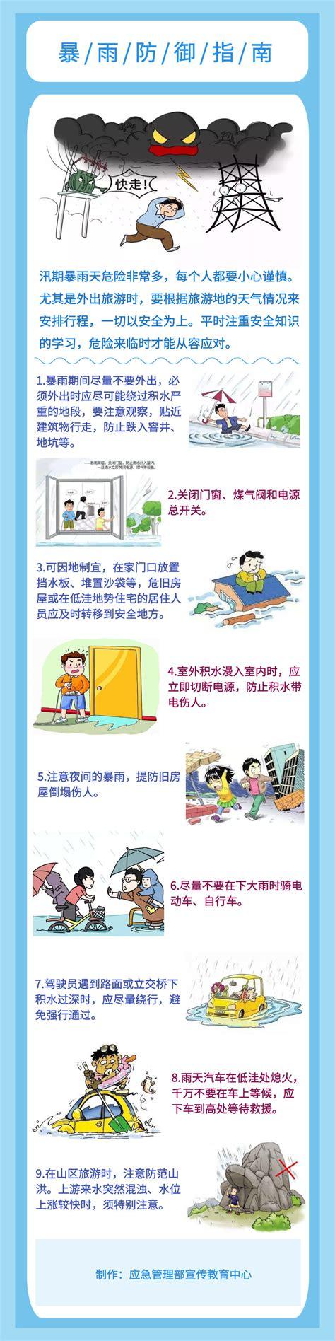 暴雨防御指南_新闻资讯_科普湖南在线网