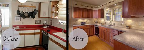 Ideas For Refinishing Kitchen Cabinets - cabinet refacing gallery wheeler brothers construction