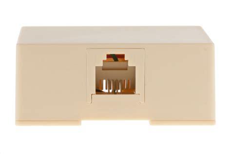 rjsurfbox  iv rj modular single port surface mount