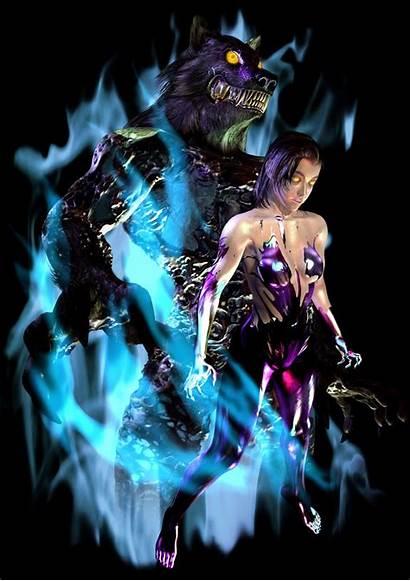 Tekken Unknown Tag Tournament Wolf Jun Character