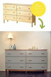 Ikea Tarva Kommode : ikea tarva hack mid century inspired ikea tarva makeover ikea hacks in 2019 ~ Orissabook.com Haus und Dekorationen