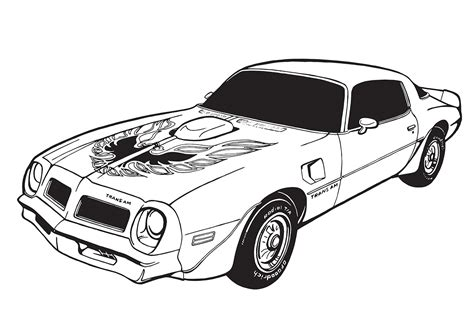2002 Pontiac Firebird Coloring Pages Coloring Pages