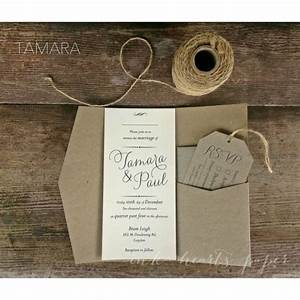 best 25 pocket wedding invitations ideas on pinterest With diy rustic wedding invitations australia