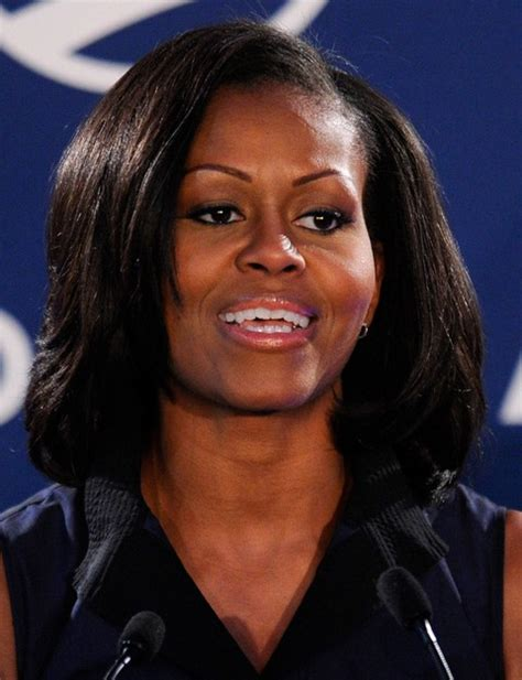 top  michelle obama hairstyles pretty designs