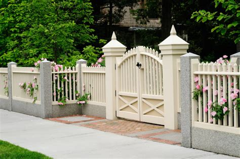 front gates and fences 75 fence designs and ideas backyard front yard