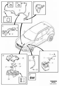 Volvo Xc40 Cable Harness Duct  Battery Cable  Cable