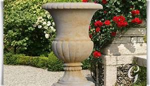 Blumentöpfe Aus Stein : gro e stein gartenamphore goethe amphore ~ Lizthompson.info Haus und Dekorationen