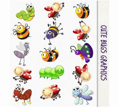 Bug Clipart Bugs Insects Clip Flying Insect