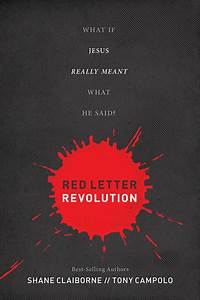 book review red letter revolution the jesus question With red letter words of jesus