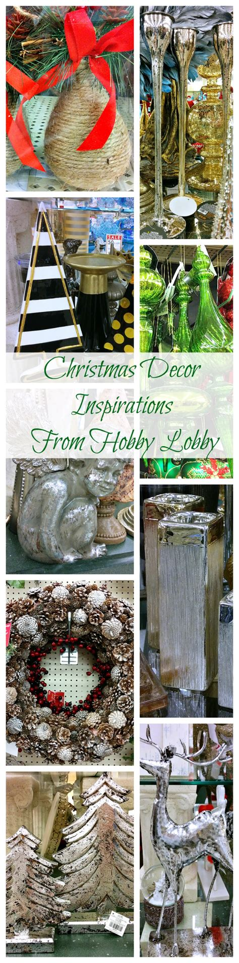 christmas decor ideas inspirations from hobby lobby do