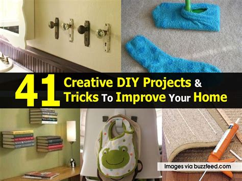 41 Creative Diy Projects & Tricks To Improve Your Home