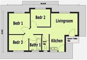 home designs simple house plans 3 bedroom simple house With simple three bedroom house design