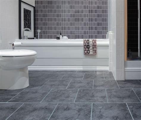 Grey Tile Bathroom Floor by Gray Bathroom 814 Decoration Ideas