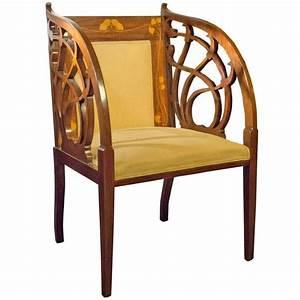Art Nouveau Mobilier : art nouveau fauteuil 1895 art nouveau mobilier ~ Melissatoandfro.com Idées de Décoration