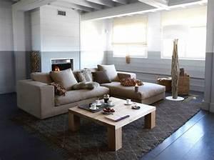 Peindre son salon en gris et blanc maison design bahbecom for Peindre son salon en gris et blanc
