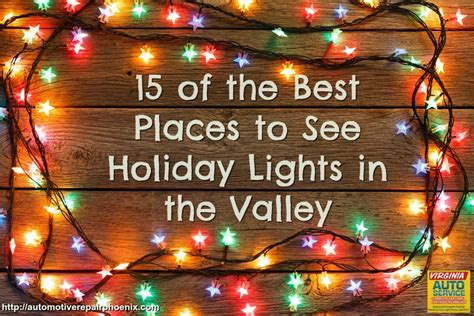 15 of the best places to see lights in the valley