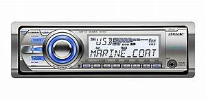 Amazon Com  Sony Cdxm60ui Marine Cd Receiver Mp3  Wma  Aac Player With Usb Wire For Ipod And Usb