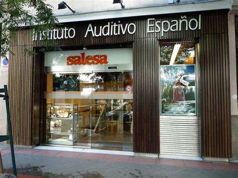 Shop Front In Madrid, Spain