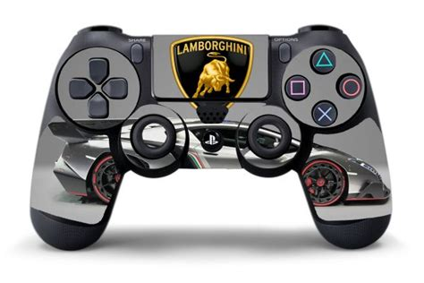 Sticker manette PS4 Lamborghini