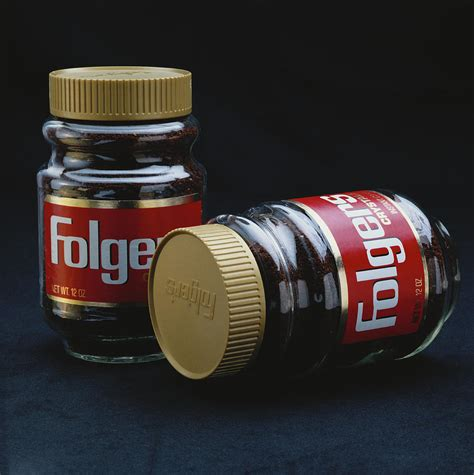 Criteria for selecting the best instant coffee brand: Instant Coffee Bottle On Black Photograph by Tom Kelley Archive