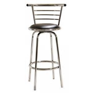 metal breakfast bar chair with back decofurnish